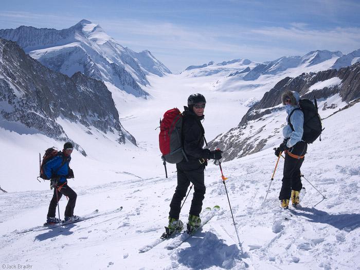Bernese Oberland, Switzerland, Grünhornlücke