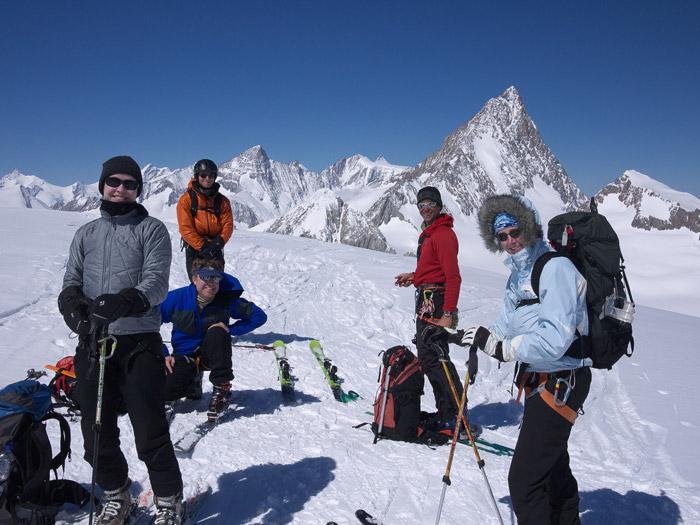 Galmihorn, summit, Bernese Oberland, Switzerland