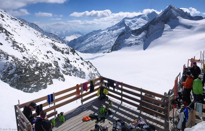Bernese Oberland, Switzerland, Oberaarjochhütte