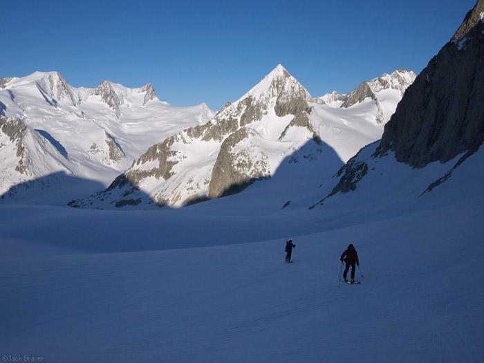Bernese Oberland, Switzerland, skinning