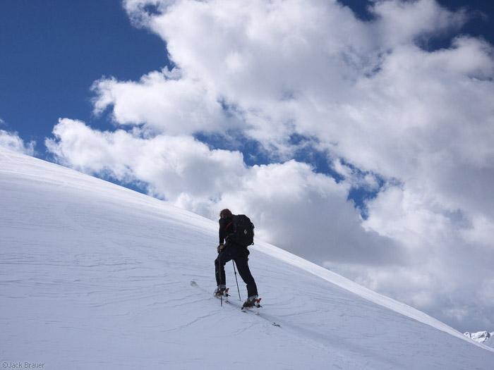 skinning, San Juan Mountains, Colorado, photo