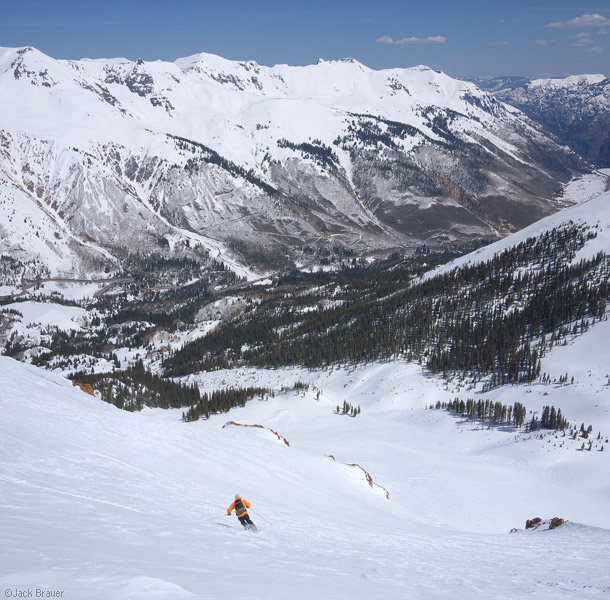 skiing, San Juans, Colorado, May, photo
