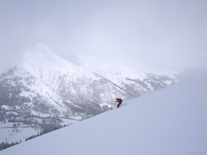 skiing, powder, May, San Juans, Colorado, photo