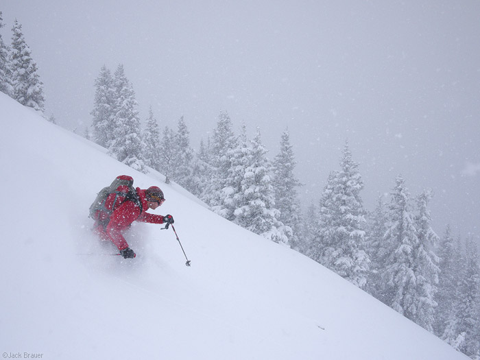 powder, skiing, May, San Juans, Colorado, photo