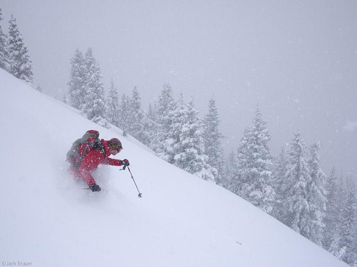 powder, skiing, May, San Juans, Colorado, photo