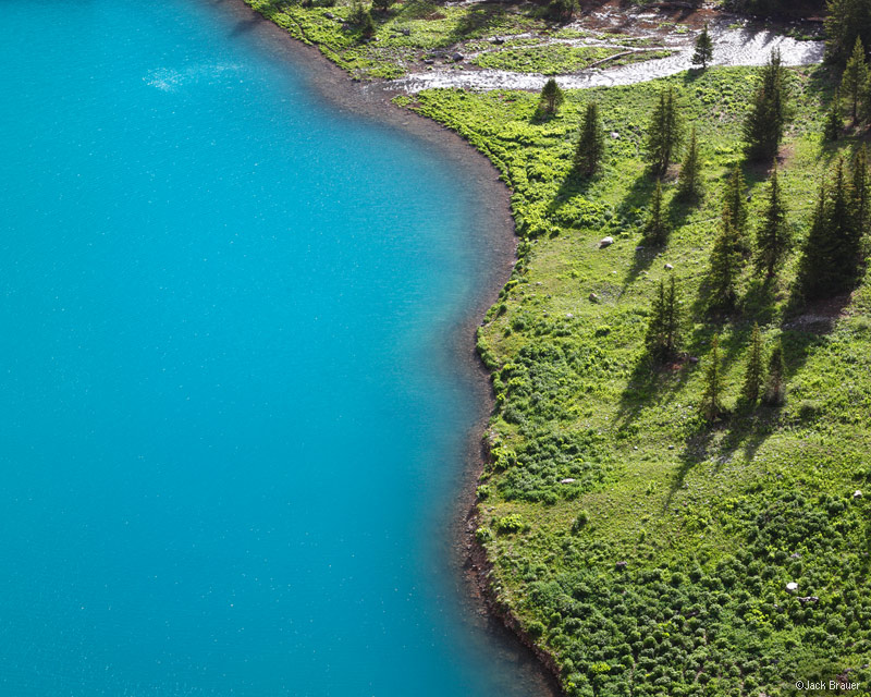 Lower Blue Lake, Sneffels Range, San Juan Mountains, Colorado