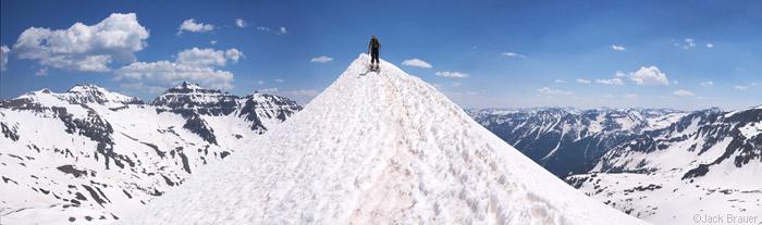 skiing, San Juan Mountains, Colorado, June, photo