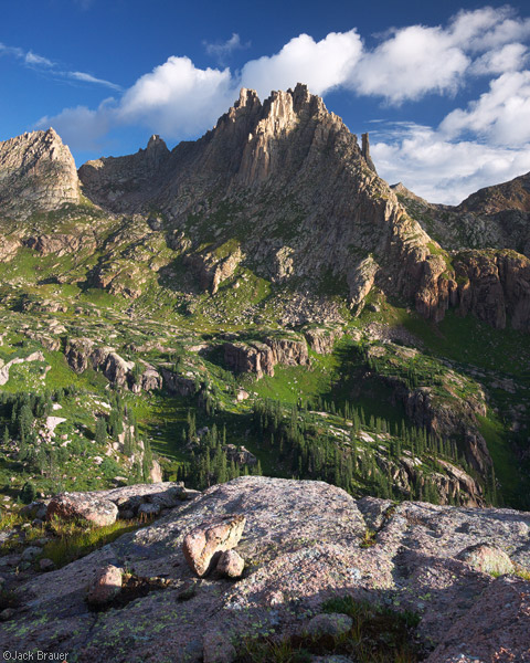Jagged Mountain, San Juan Mountains, Colorado, photo
