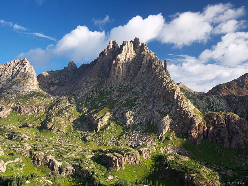 Jagged Mountain, Needle Mountains, San Juan Mountains, Colorado, Weminuche Wilderness, photo