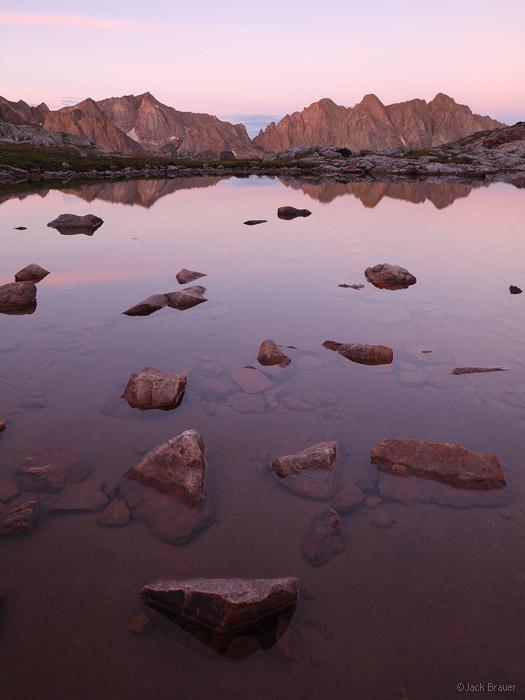 Needle Mountains, San Juan Mountains, Colorado, Eolus, Monitor Peak, Animas Mountain