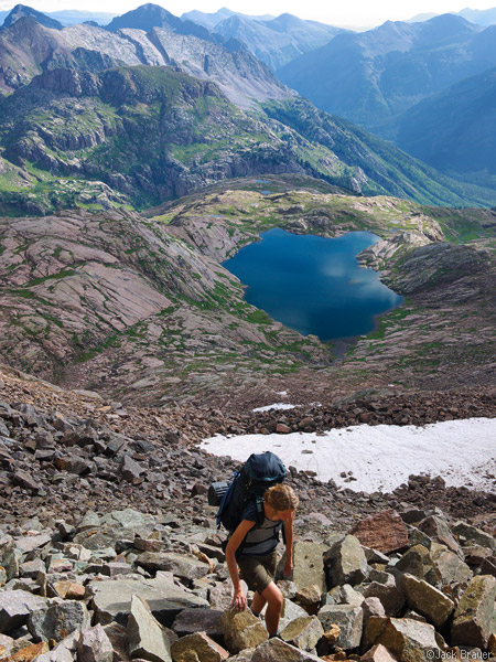 Weminuche Wilderness, hikes, San Juan Mountains, Colorado, photo