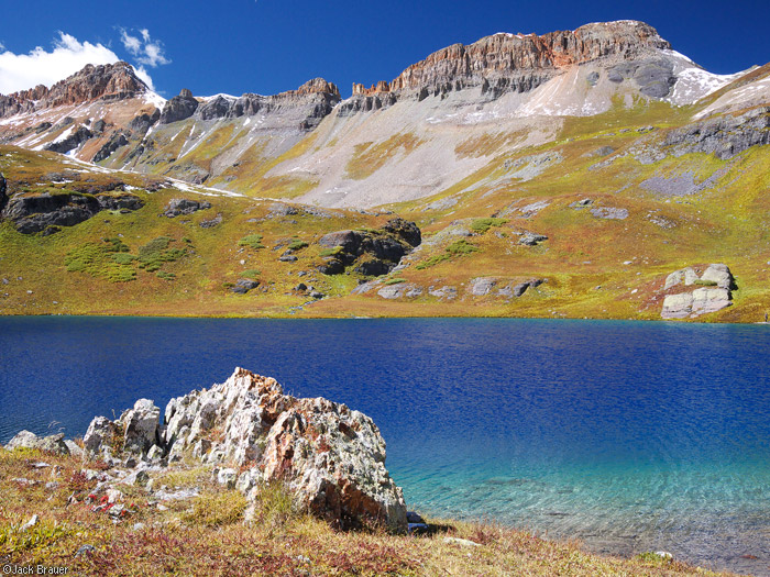 Ice Lakes, San Juan Mountains, autumn, Colorado, photo