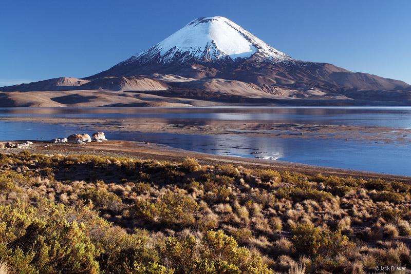 Parinacota, Lauca, Chungara, Chile, volcano