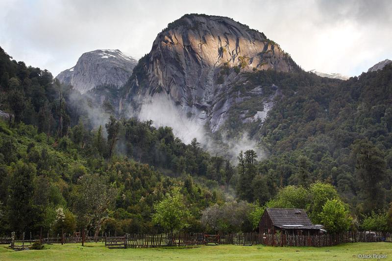 Cochamó, Chile, La Junta, cabin