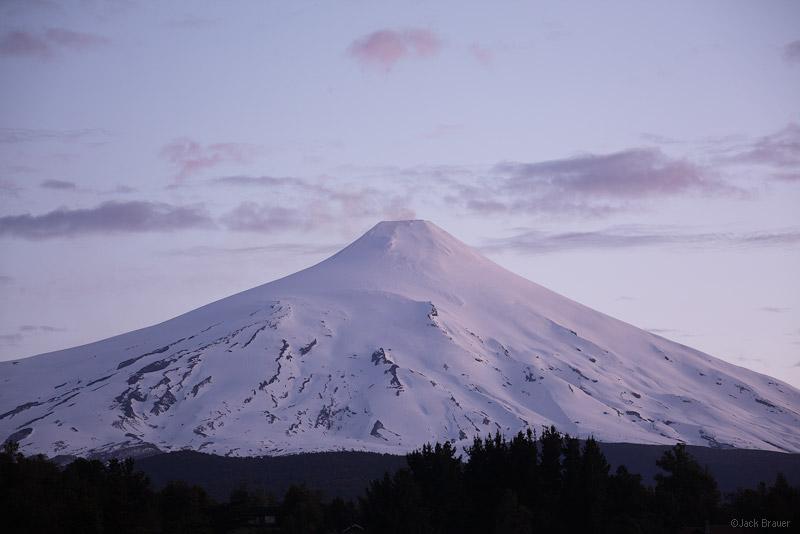 Volcán Villarrica, Pucón, Chile, November