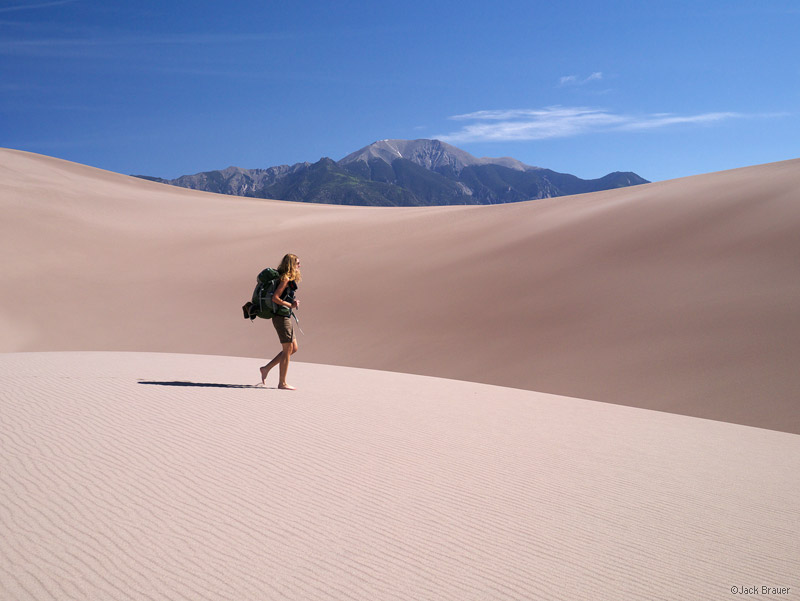 Great Sand Dunes, Colorado, hiking