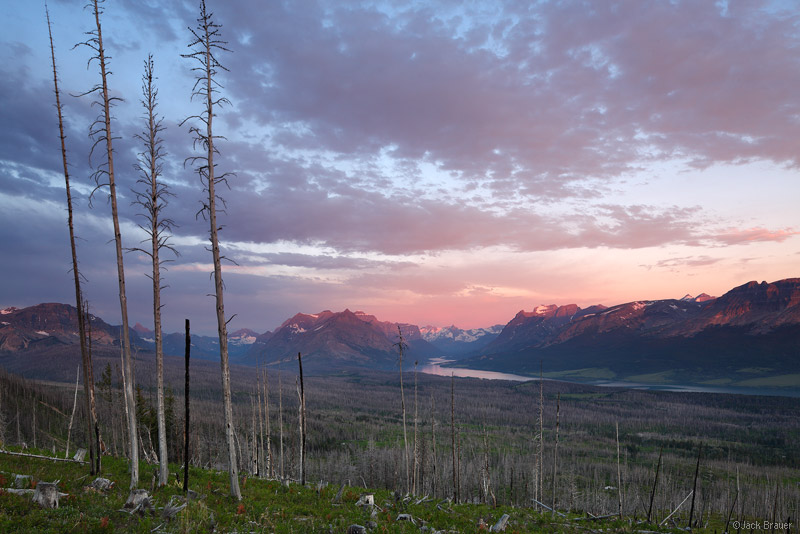 Glacier National Park, Montana, sunrise