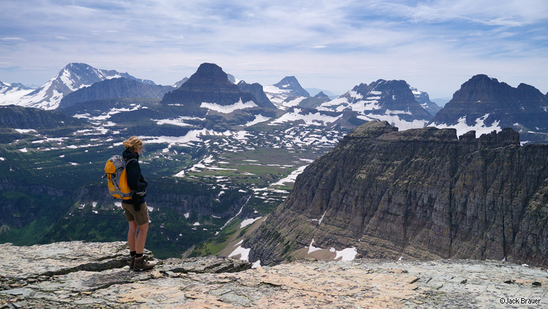 Piegan Pass, Glacier National Park, Montana, hiking, Going to the Sun road, Logan Pass