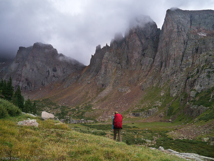 hiking, San Juan Mountains, Colorado