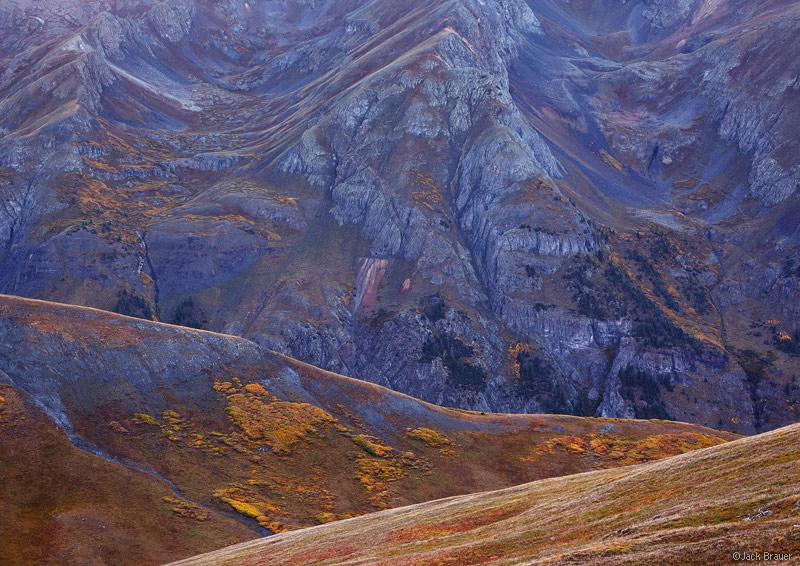 Silverton, Stony Pass, abstract, San Juan Mountains, Colorado