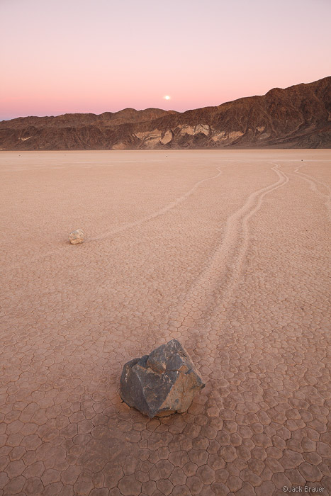 Racetrack, Death Valley, California, National Park, sunset