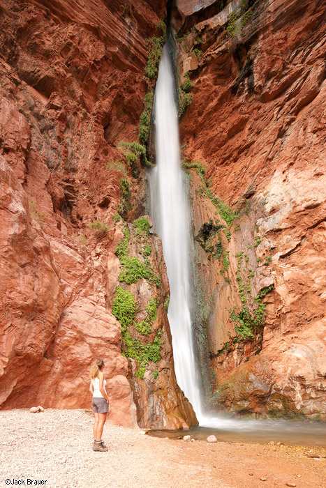 Deer Creek, waterfall, Grand Canyon, Arizona