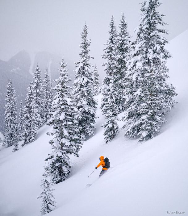 Powder, ski, San Juan Mountains, backcountry, Colorado