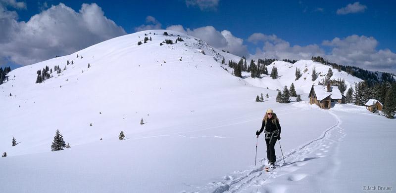Resolution Mountain, Fowler/Hilliard Hut, Gore Range, Colorado, March