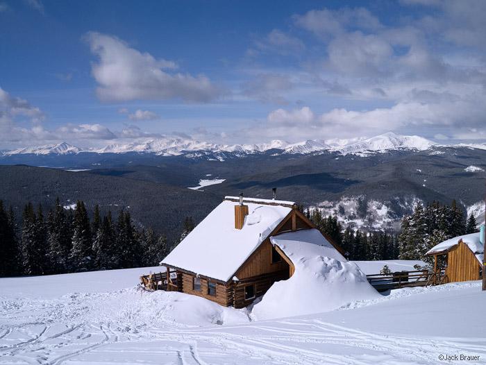 Jackal Hut, Gore Range, Mt. Elbert, Sawatch Range, Colorado, winter