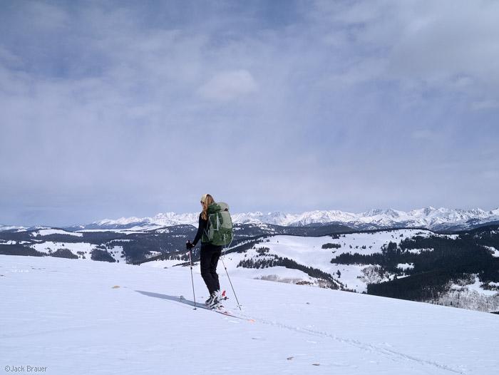 Resolution Mountain, Gore Range, summit, Colorado
