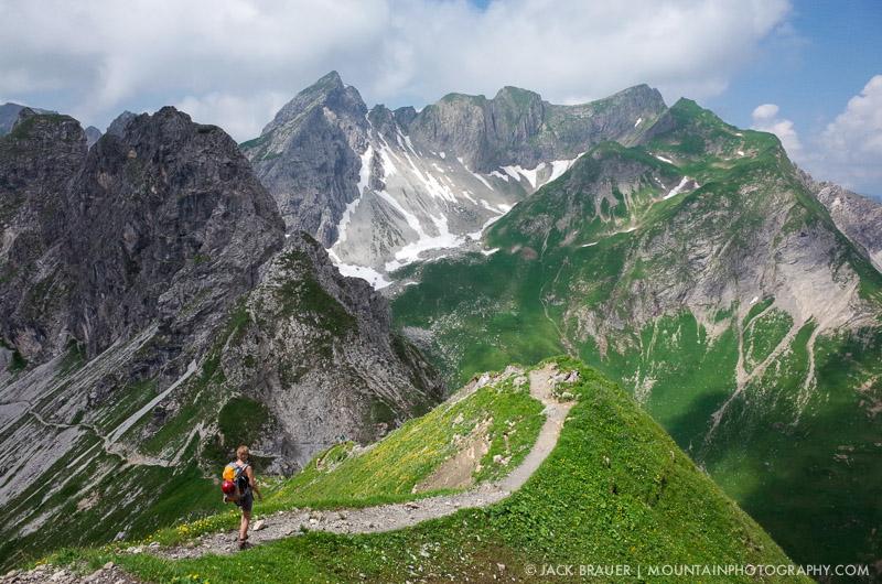 Allgäuer Alps, Germany, hiking