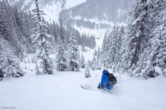 skiing, San Juan Mountains, Colorado, December