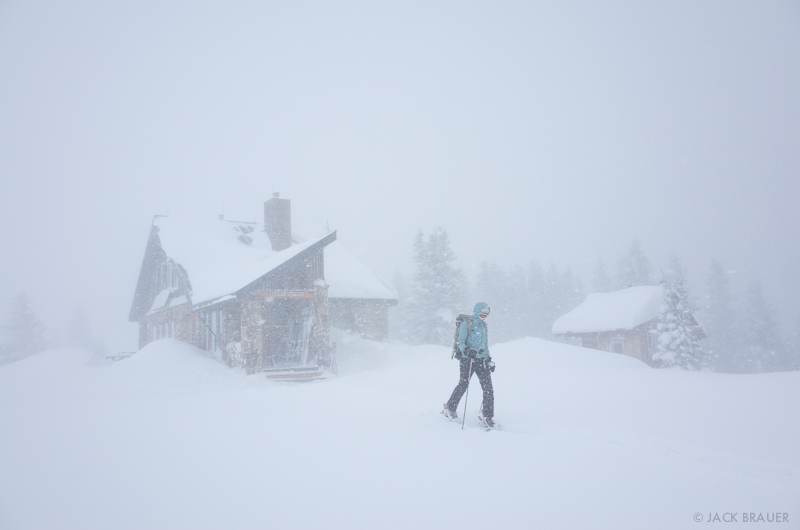 Colorado, Fowler Hilliard Hut, Gore Range, January, skiing, hut