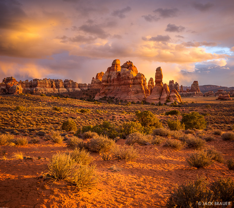 Canyonlands National Park, Needles District, Utah, Chesler Park