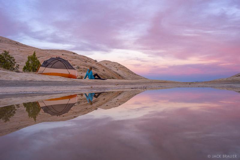 Boulder Mail Trail,Escalante,Escalante National Monument,Utah,tent