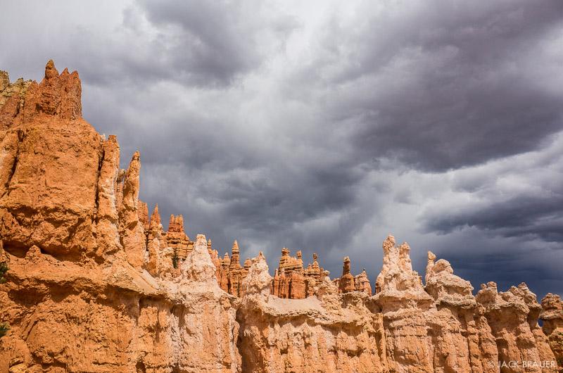 Bryce Canyon,Utah, clouds