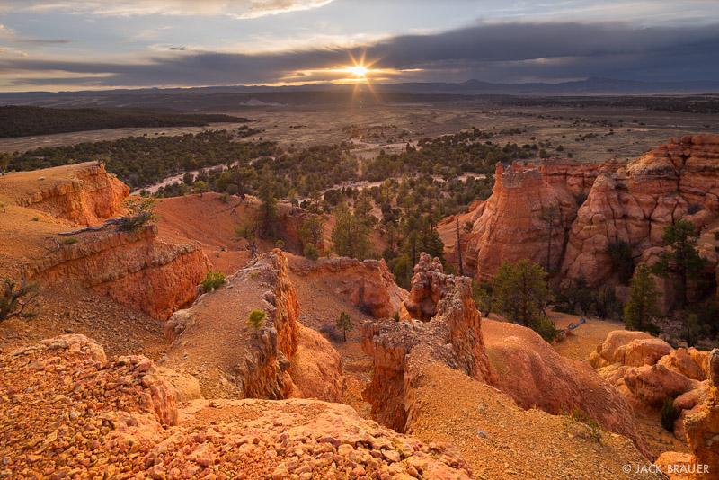 Red Canyon,Utah, sunset