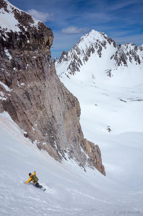 Colorado,Gilpin Peak,San Juan Mountains,Sneffels Range, snowboarding