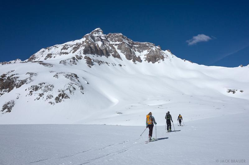 Colorado,Gilpin Peak,San Juan Mountains,Sneffels Range, skiing