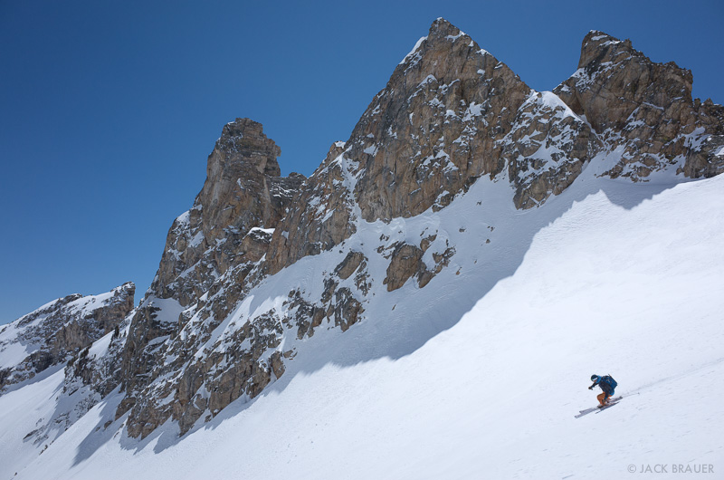 Tetons,The Jaw,Wyoming, skiing