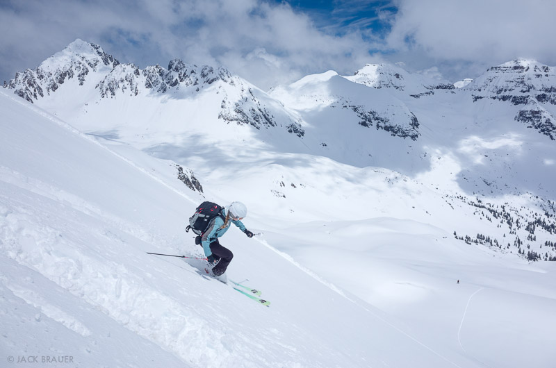 skiing, Colorado,San Juan Mountains,Sneffels Range