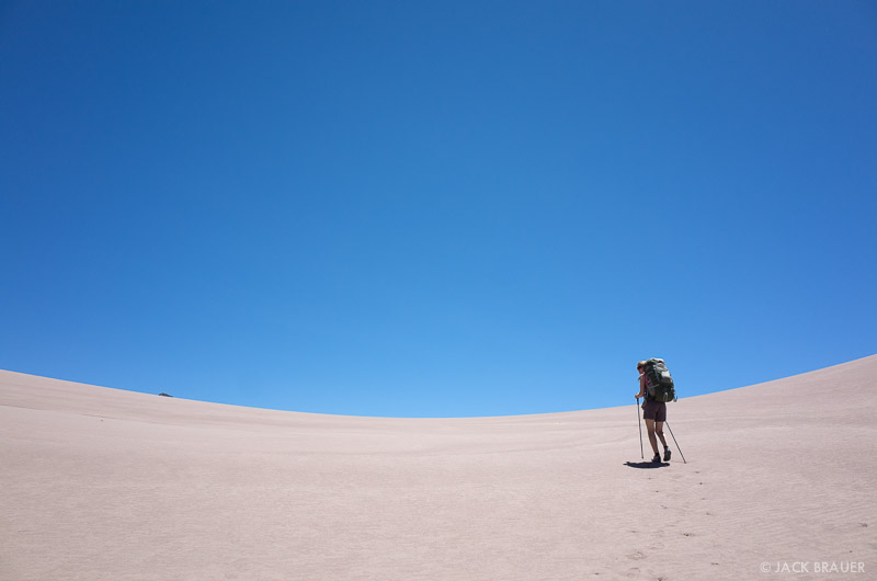 Colorado, Great Sand Dunes, hiking