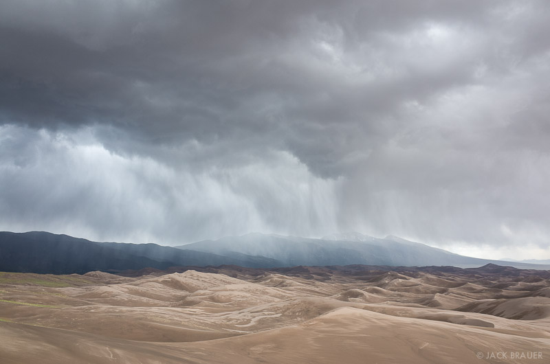 Colorado,Great Sand Dunes, storm
