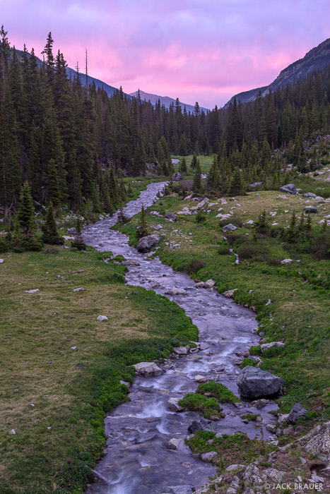 Colorado,Sangre de Cristos, Huerfano, sunset, river