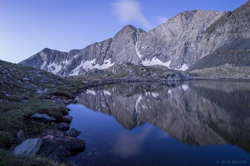 Blanca Peak,Colorado,Sangre de Cristos, fourteener, Lily Lake