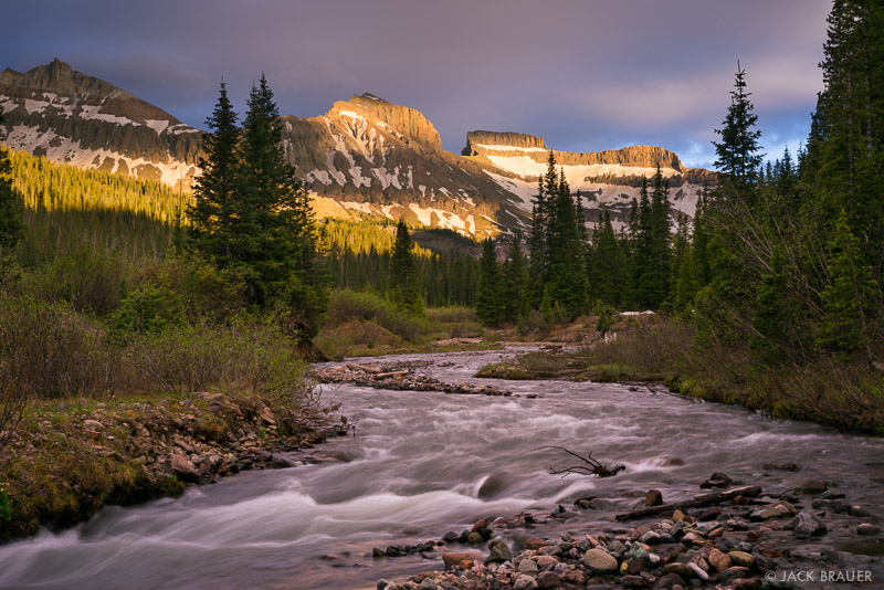 Cimarrons,Colorado,San Juan Mountains, Redcliff, Coxcomb, West Fork, sunset, photo