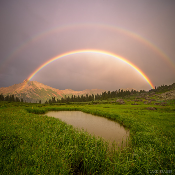 Colorado,San Juan Mountains,Sultan Mountain,rainbow