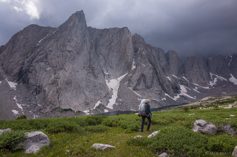 Ambush Peak,Wind River Range,Wyoming, hiking