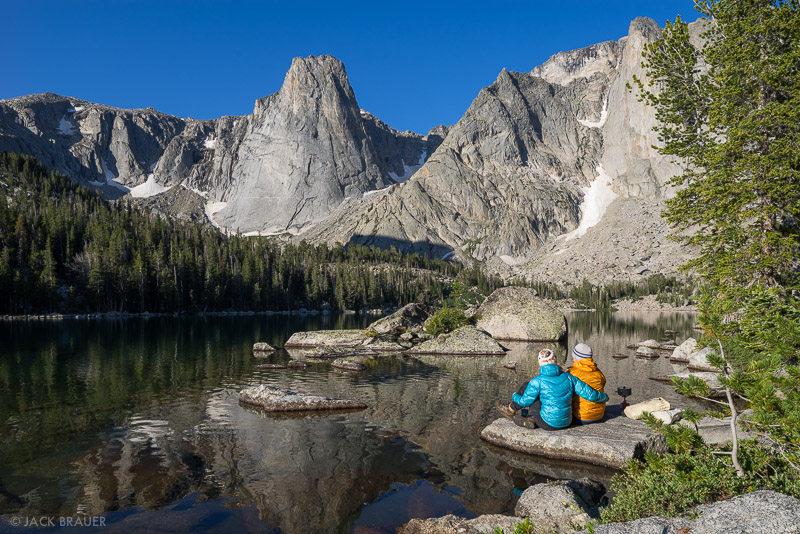 Papoose Lake,Wind River Range,Wyoming