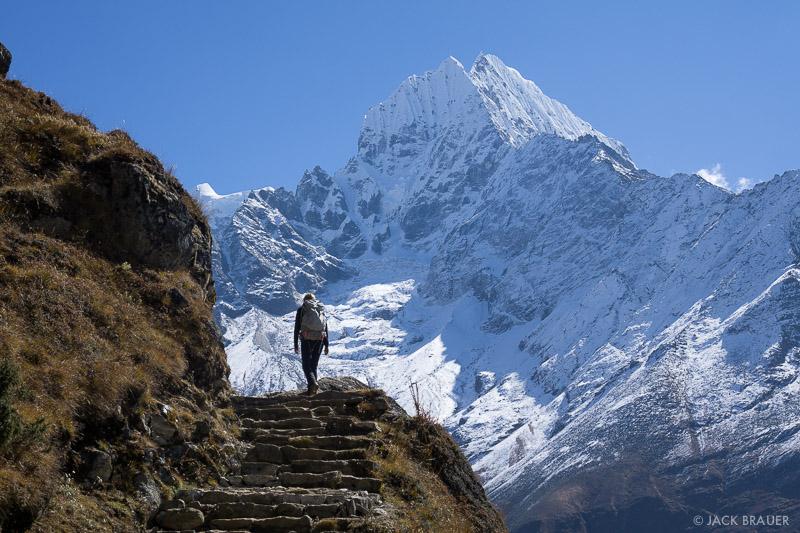 Himalaya,Khumbu,Nepal,Thamserku, hiking